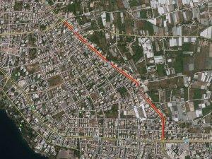 Sinanoğlu Caddesi asfaltı yenileniyor