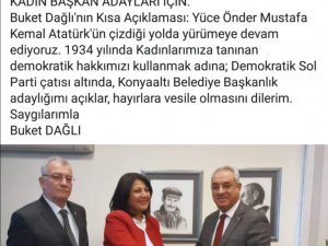 Buket Dağlı Konyaaltı'na DSP'den aday oldu