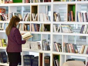 OSB kütüphanesi açıldı
