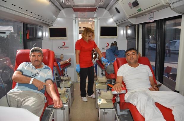 Antalya'da İnanılmaz Bir Ortamda Kan Bağışı