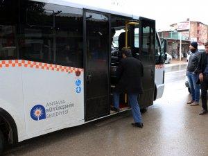 527 Pınarlı-Kundu  hattı sefere başladı