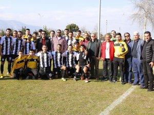 Döşemealtı'nın futbol takımı ilk maçında göz doldurdu