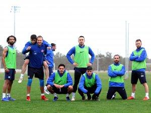 Antalyaspor'a hazırlıkları sürdürdü