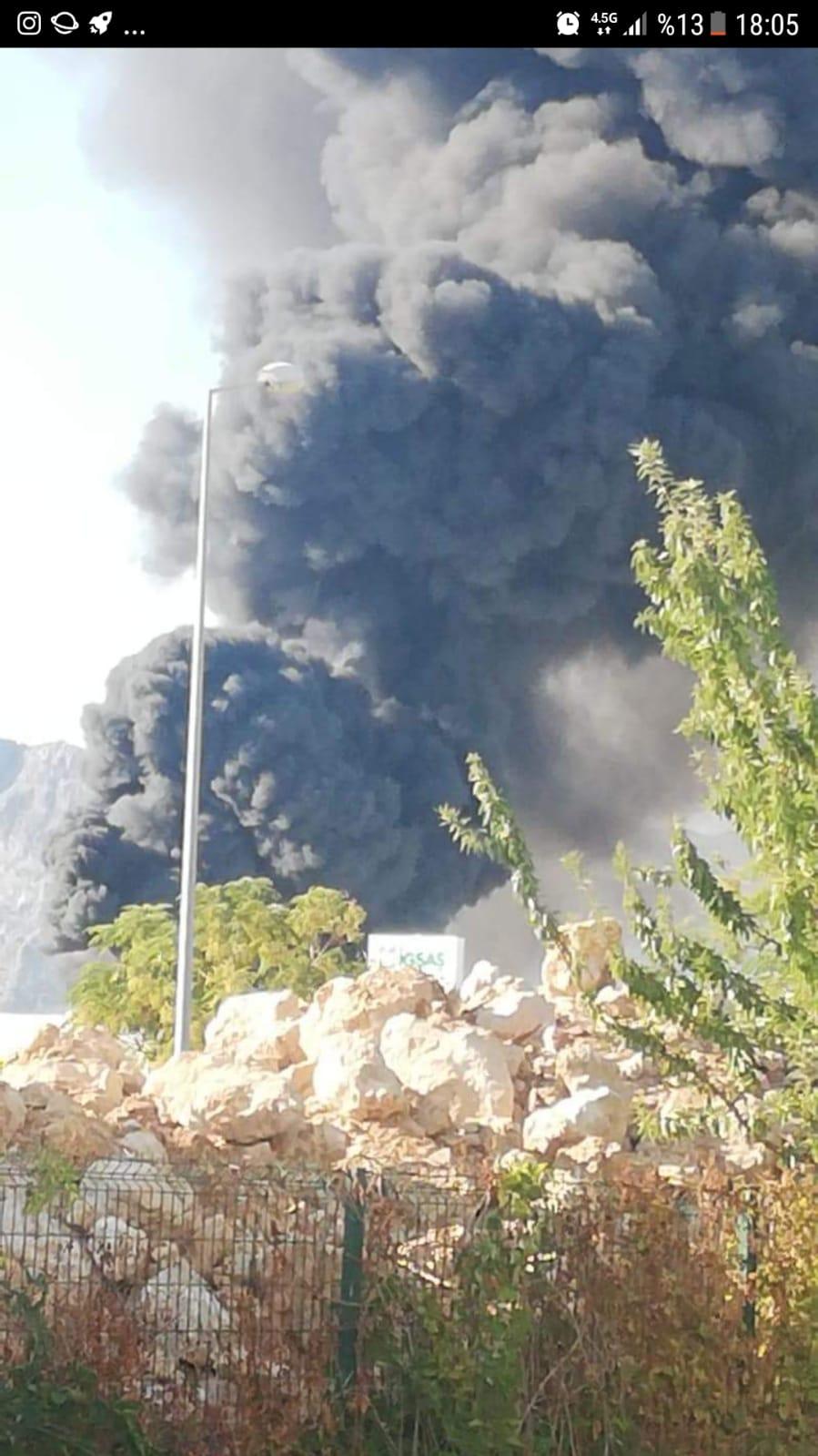 Organize Sanayide Yine Fabrika Yangını