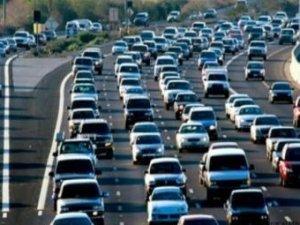 Araç sayısı artışta