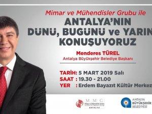 Türel Antalya'yı anlatacak