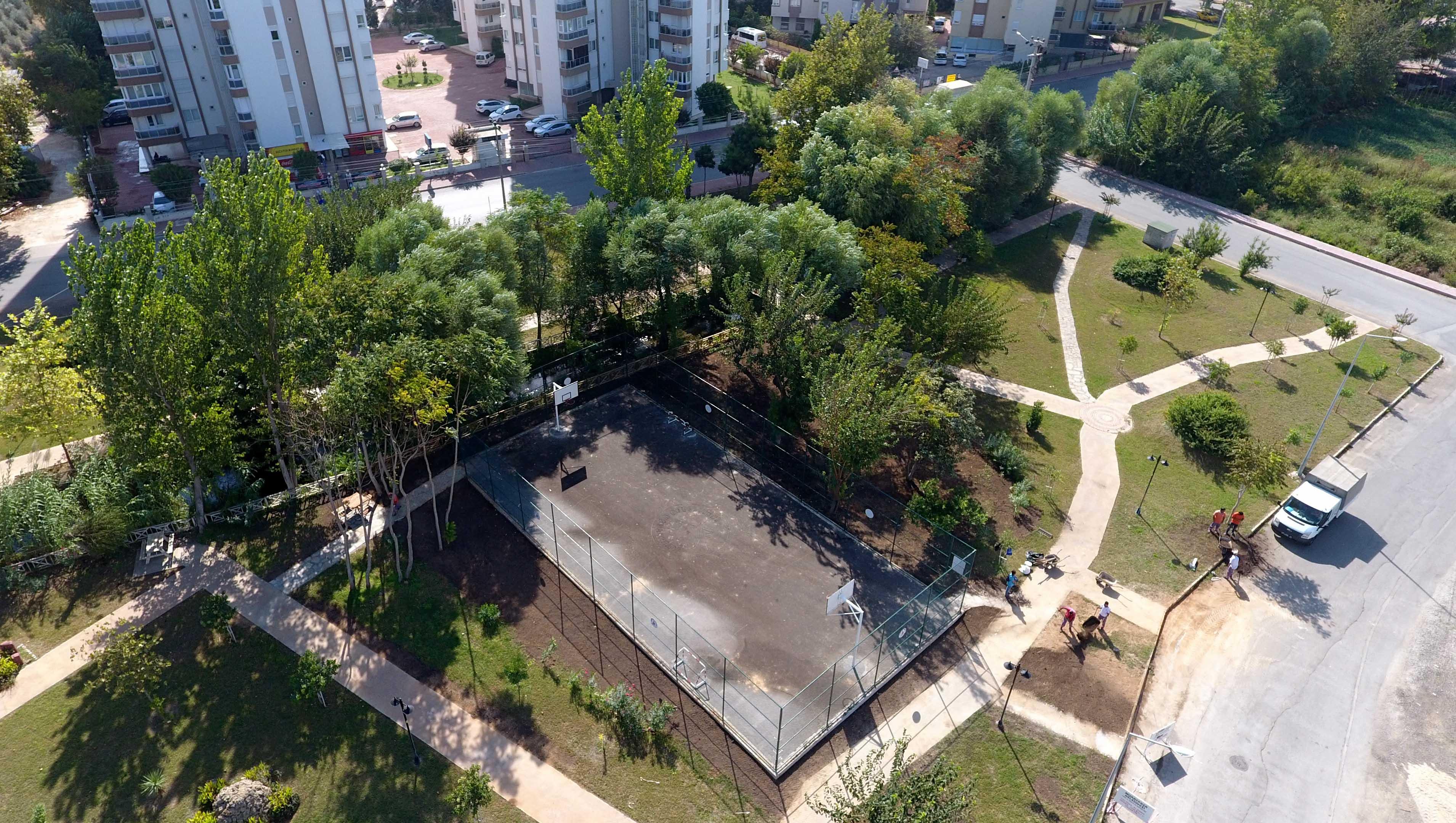 Muratpaşa Park Sayısını 2'ye Çıkardı