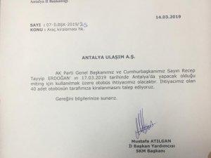 AK PARTİ'DEN KAMUOYU AÇIKLAMASI