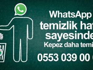 Whatsapp Temizlik Hattı