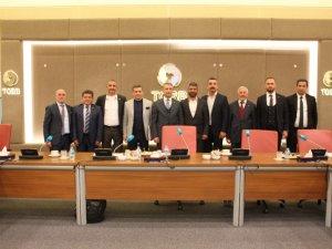 Antalya Müteahhitler Derneği  ilk ziyaretini Ankara'ya yaptı.
