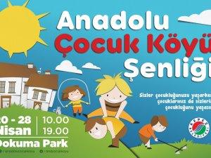 Kepez'in 'Anadolu Çocuk Köyü Şenliği' başlıyor