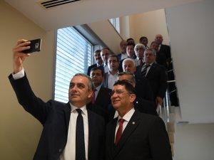 Başkan Semih Esen, esnaf temsilcilerini ağırladı