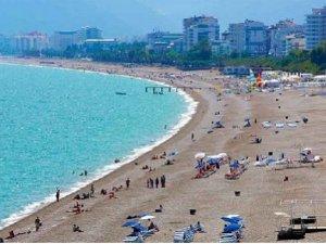 Turizm gelirinin  % 25'i denizden