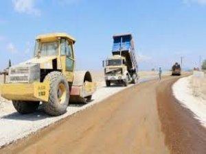 Denizkent-Gündoğdu  yolu asfaltlanıyor