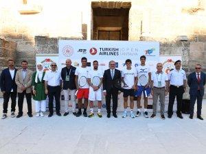 Antalya Open'a Aspendos'tan merhaba