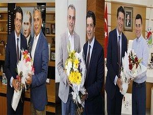 Başkan Genç'den tebrik ve hayırlı olsun ziyaretleri