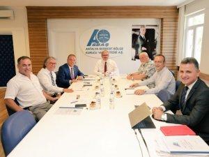 ASBAŞ toplantısı Vali Münir Karaloğlu başkanlığında gerçekleştirildi
