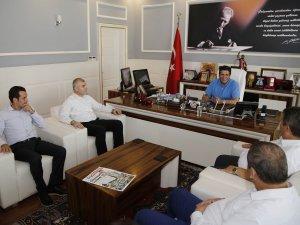 Başkan Genç, SGK İl Müdürü Nejat Deniz'i ağırladı