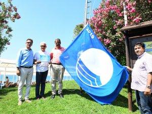 Başkan Yardımcısı Gökçen, mavi bayrak törenine katıldı