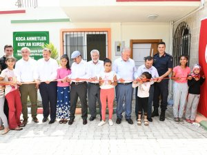 Koca Ahmetler Kur'an kursu hizmete açıldı