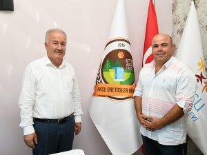 Başkan Şahin Üreticiler Birliği'ni ziyaret etti