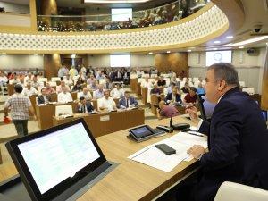 Büyükşehir Belediye Meclisi Temmuz Ayı Toplantısı yapıldı