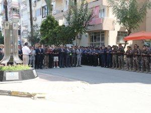 Helikopter Şehitleri Anıtında şehitler için anma töreni düzenlendi