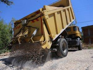 Kaş Belediyesi'nden 1 milyon 250'bin TL'lik sathi asfalt yatırımı