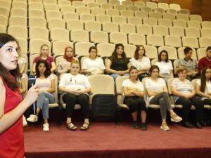 Döşemealtı Belediyesi'nden stajyer öğrencilere İş Sağlığı ve Güvenliği eğitimi