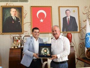 Akdeniz Belediyeler Birliği'nden Aksu ziyareti