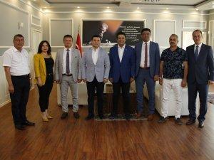 ABB'den Başkan Genç'e ziyaret