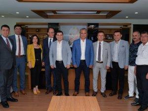 Akdeniz Belediyeler Birliği Başkan Uysal'ın konuğu