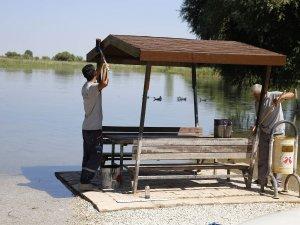 Kırkgöz Gölü ve çevresi güzelleşiyor