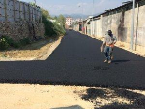 Büyükşehir'den Alanya Payallar Sanayi Sitesi'ne altyapı ve asfalt