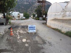 ASAT ekipleri Demre'de çalışıyor