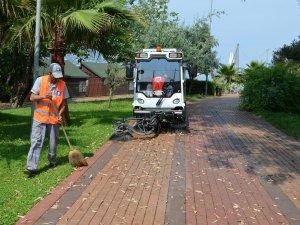 Alanya sokakları pırıl pırıl