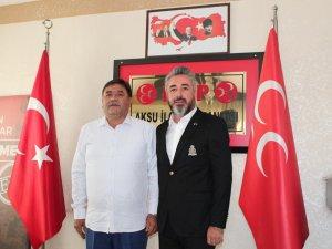 Seçim öncesi Müteahhitler Derneği Başkanı Karataş'ın Aksu ilgisi!