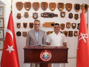 Başkan Esen'den SG Komutanlarına ziyaret