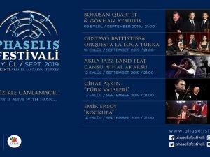 Phaselis Festivali Eylül'de Başlıyor
