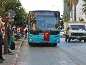 Büyükşehir'den Barış Pınarı Harekatı'na Bayraklı destek