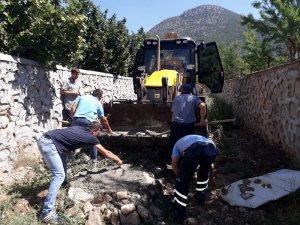 ASAT'tan İbradı'da yoğun çalışma