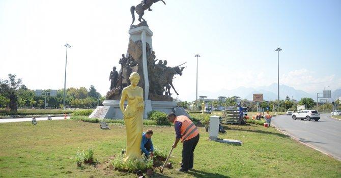Antalyaspor Kavşağı Festivale hazırlanıyor