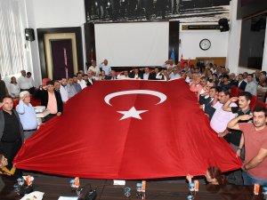 Aksu Belediye Meclisi'nden Mehmetçik'e selam