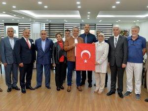 Şehit aileleri Başkan Uysal'ı ziyaret etti