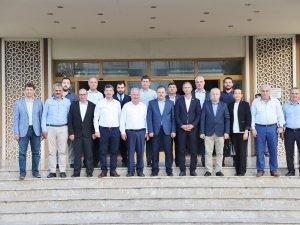 Abdurrahman Öz'den Başkan Şahin'e ziyaret