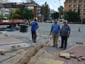 Büyükşehir Alanya Otogarı'ndaki aydınlatma sorununu kökten çözüyor