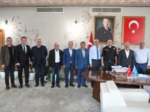 Müdür Gülcü'den iade-i ziyaret