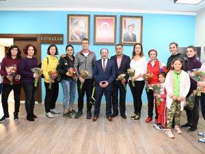 Kaymakam Ergün'den öğretmenlere destek