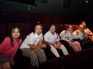 Özel çocukların sinema keyfi