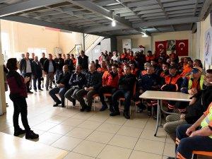 Muratpaşa Belediyesi'nden; kadına şiddetin durması için erkeklere yönelik eğitim çalışması